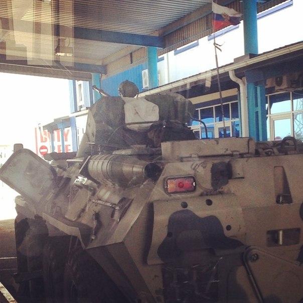 Военная техника РФ движется в сторону Украины. Фото