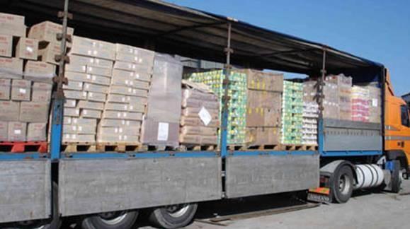 В Славянск и Краматорск доставили 35 тонн продовольствия