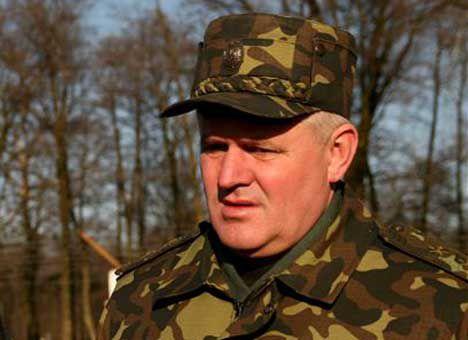 Начальник Генштаба Куцин получил контузию в зоне АТО