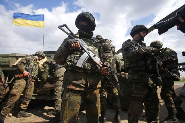 Украинские военные вошли в Авдеевку