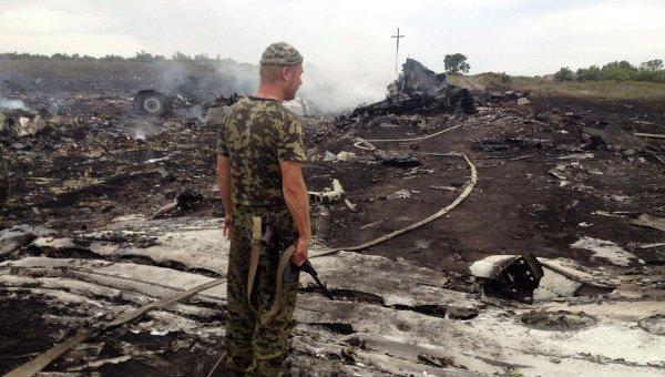 Террористы: Трудно сохранить обломки разбитого самолета
