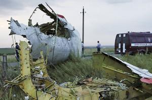 Сбитый над Донбассом Боинг-777