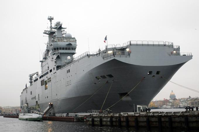 Россия назовет французский вертолетоносец «Севастополем»