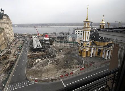 Киевсовет близок к расторжению договора с застройщиком Почтовой площади