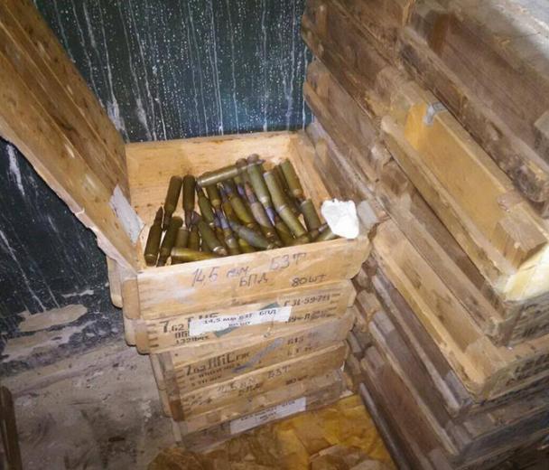 В Павлограде нашли огромный склад оружия. Видео