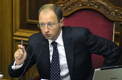 Яценюк просит партнеров Украины заморозить российские активы и финансы