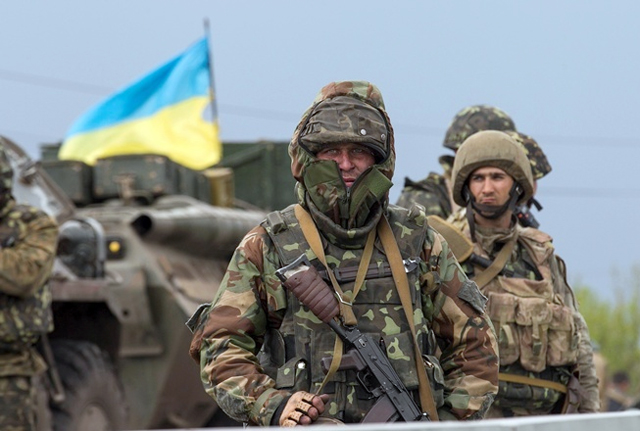 Украинские силовики вошли в Луганск