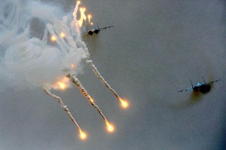 СНБО: СУ-25 были сбиты ракетами с территории России