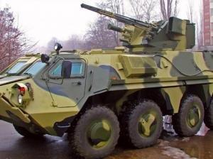 Пограничный БТР-80 подорвался на мине: шесть раненых