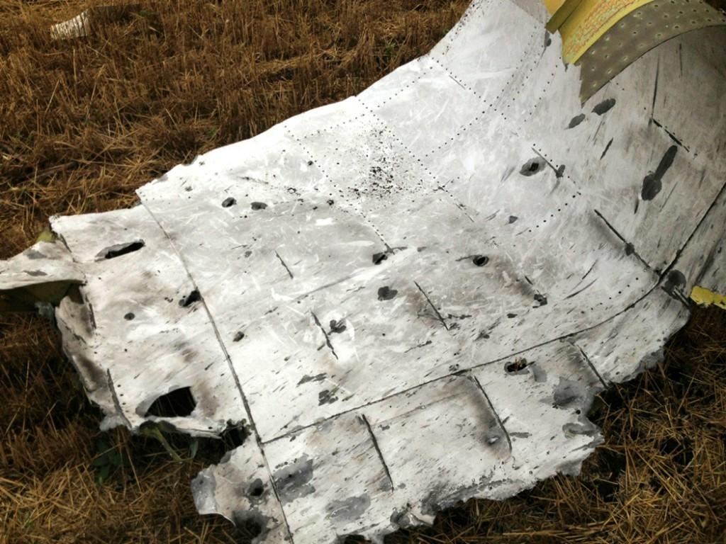 На месте крушения Боинга обнаружены новые останки