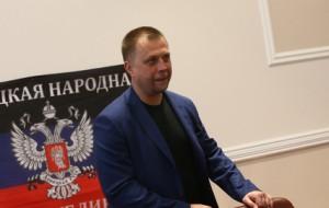 Бородай ушел с должности премьера ДНР