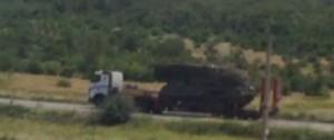Водителя тягаче от ЗРК