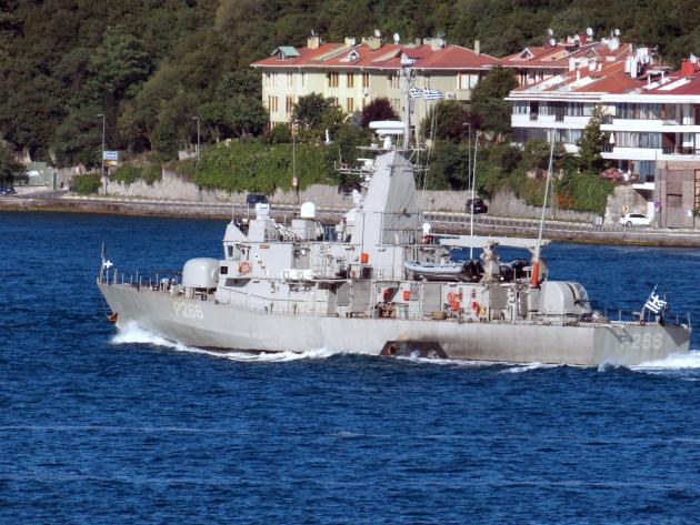 СМИ: Боевые корабли НАТО вошли в Черное море. Фото