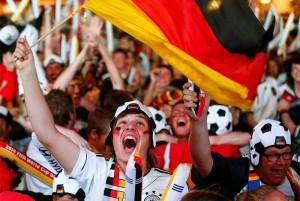 Сборная Германии стала чемпионом мира по футболу. Видео