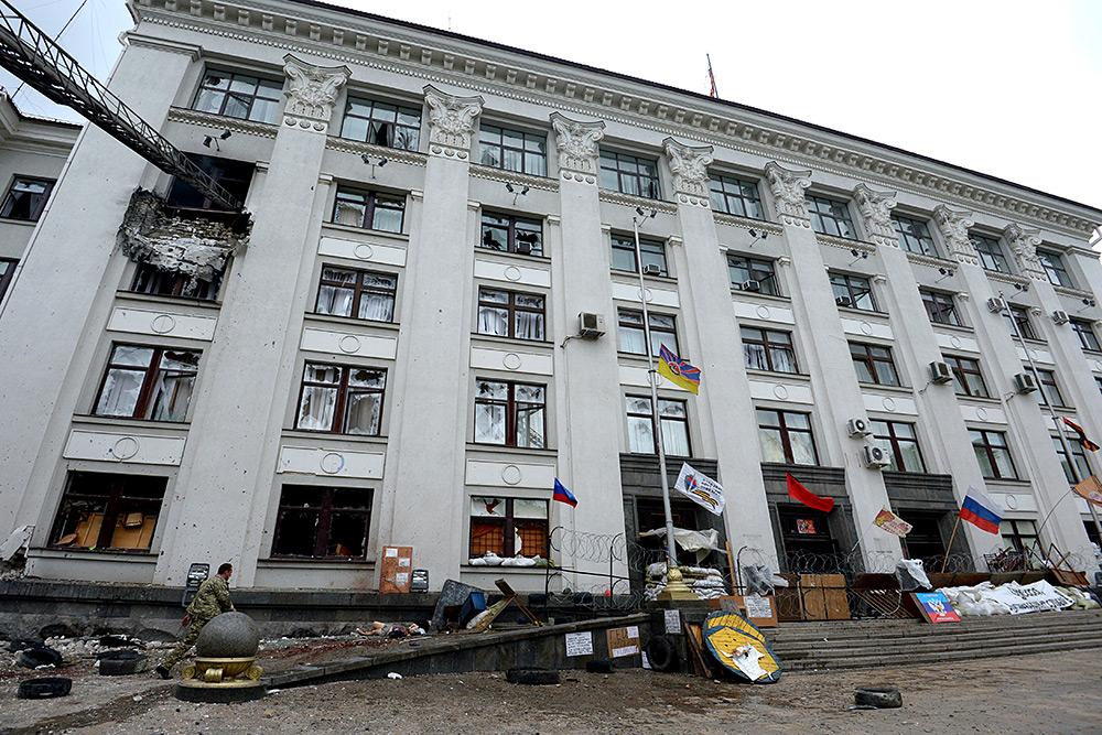 Луганск. Карта разрушений