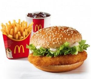 РФ: McDonald's запретят продавать бургеры и мороженое