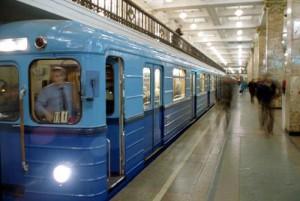 В Киеве у входа на станцию метро
