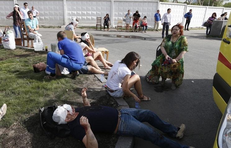Число жертв аварии метро в Москве достигло 23-х человек