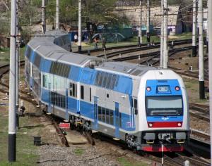 Укрзализныця запустила двухэтажный поезд в Тернополь