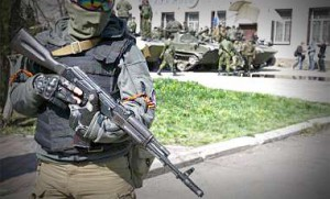 Террористы захватили нефтеперерабатывающий завод в Лисичанске