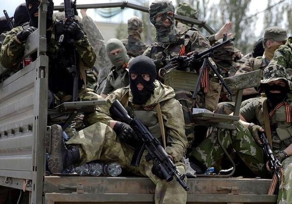 На Донбасс зашла колонна наемников с боеприпасами