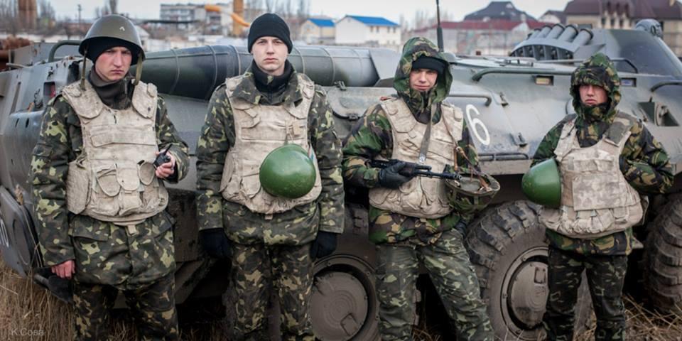 Украинских солдат поселят в плацкартные вагоны