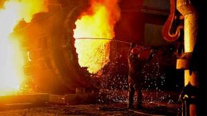Промышленное производство Украины упало на 16,3%