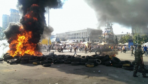 У Кличко говорят, что мэр Киева не приказывал разбирать баррикады на Майдане