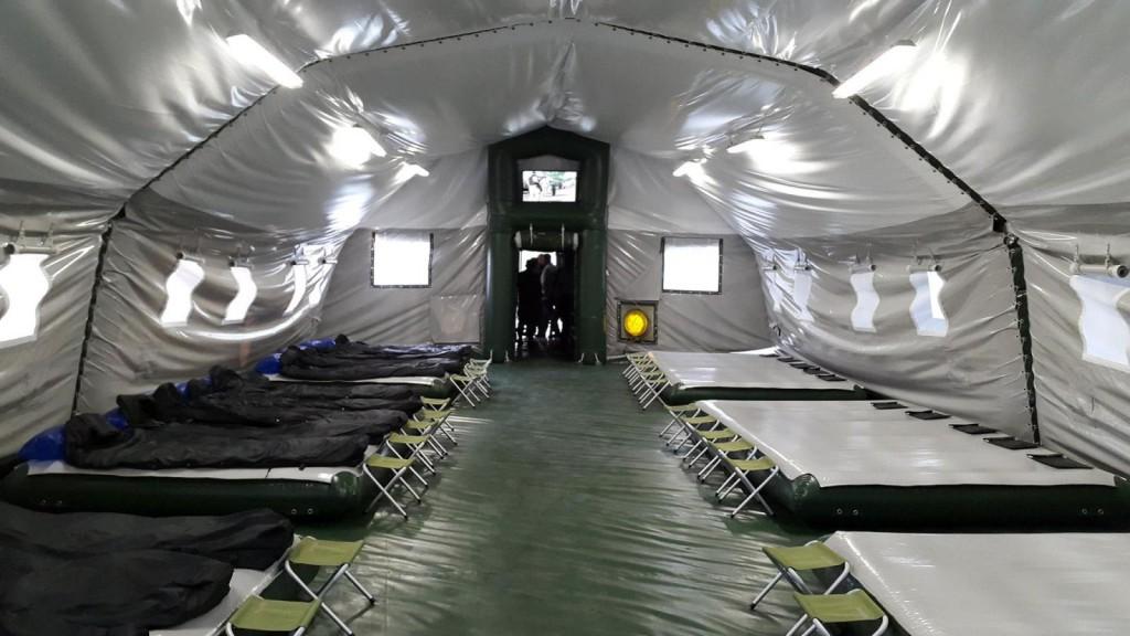 Нацгвардия закупила палаток на 11 млн гривен