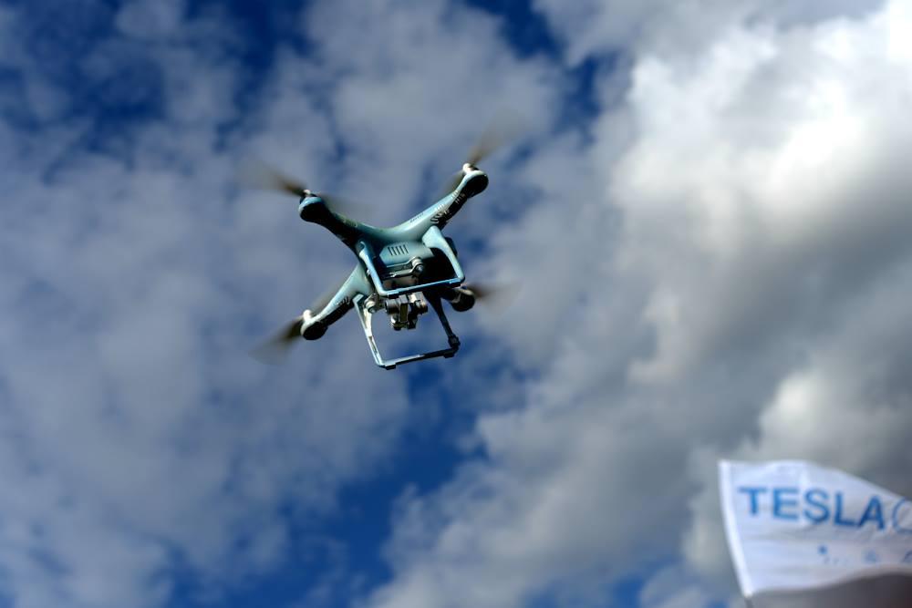 Состоялись испытания квадрокоптер-аэротакси