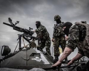 Террористы обстреляли аэродром в Луганске