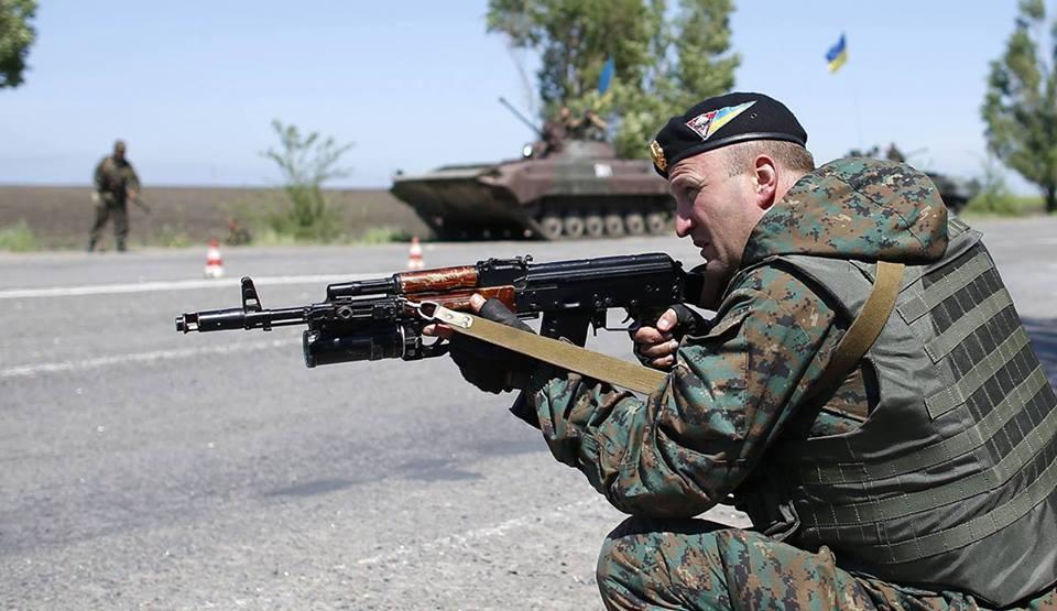СНБО: Новоазовск взят под полный контроль сил АТО