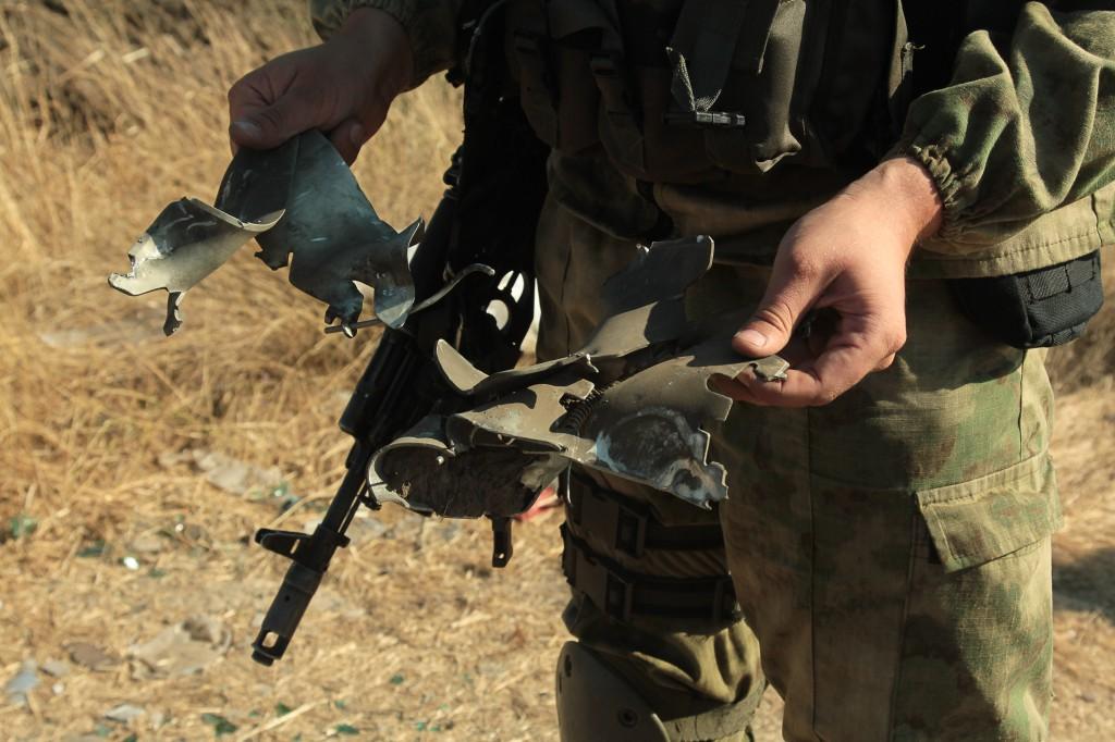 Пограничники отбили нападение диверсионной группы с оккупированного Крыма