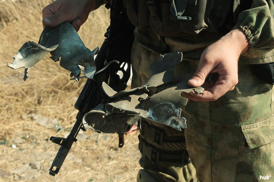 Террористы обстреляли автомобиль ОБСЕ возле Счастья