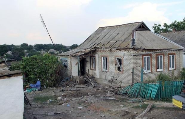 Российские «Грады» уничтожили донецкое село Степановка. Фото