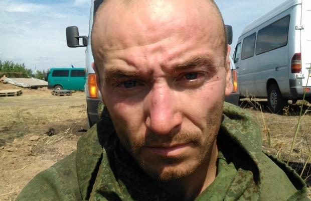 Фото российских десантников, задержанных на Донбассе