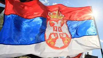 На отборочном матче к Евро-2016 сербы кричали «Слава Путину!» Видео
