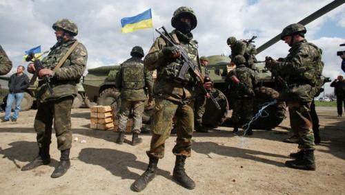 Десантники сил АТО уничтожили три блокпоста