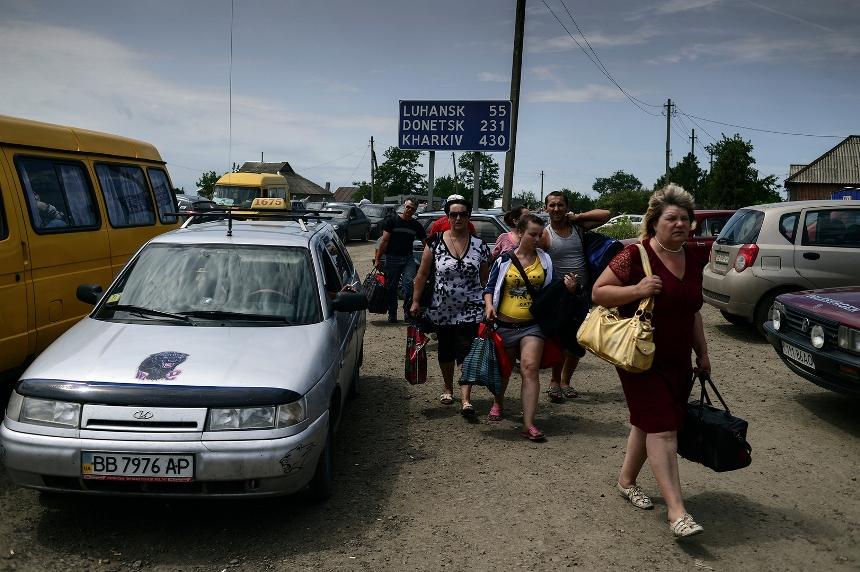 Куда бегут украинцы от войны