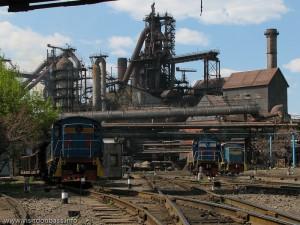 Донецкий металлургический завод приостановил работу