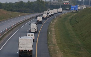 Российский «гуманитарный конвой» - уже на пути к Белгороду