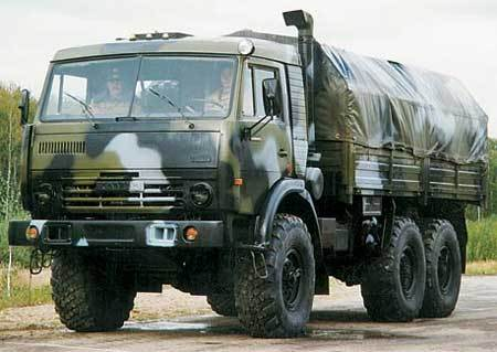 Нацгвардия закупила российские «КамАЗы»