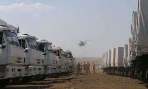 Россия собирает седьмой гумковой в Украину