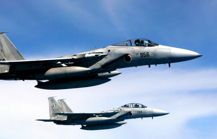 Японские истребители подняты на перехват российских бомбардировщиков