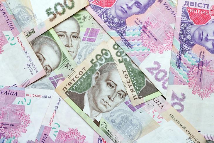 Дефицит госбюджета Украины вырос почти в два раза