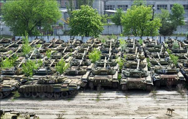 Харьковский Бронетанковый завод обстреляли из огнемета