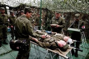 В медицинских ВУЗах Украины восстанавливают военную подготовку врачей