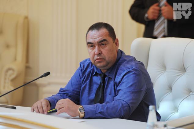 Глава ЛНР: Мы по-прежнему намерены отсоединиться от Украины