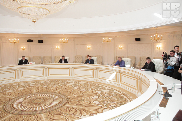Переговоры в Минске. Фото