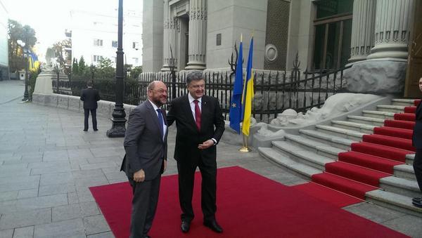 Порошенко встретился с Президентом Европарламента
